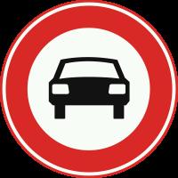 C6 Gesloten voor voertuigen op meer dan twee wielen