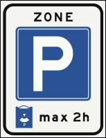 E10ZB Parkeerschijfzone