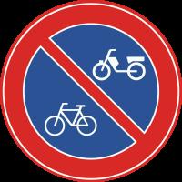 E3 Verboden fietsen en bromfietsen te plaatsen