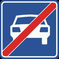 G4 Einde autoweg