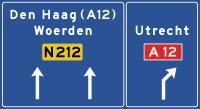 K11 Voorsorteren op niet-autosnelweg