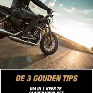 Gouden tips - Motor theorie-examen